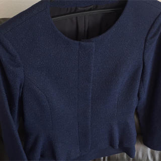 ANAYI - 確認ページ ANAYI スカートスーツの生地