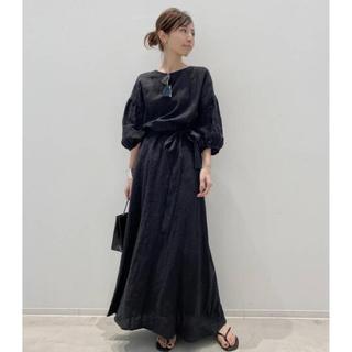 L'Appartement DEUXIEME CLASSE - 新品未使用 Appartement Linen Madam Dress