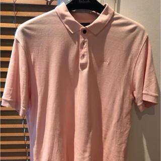 パタゴニア(patagonia)のPatagonia パタゴニア ポロシャツ ピンク MENS Mサイズ(ポロシャツ)