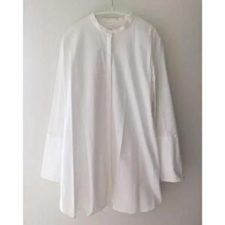 COS - cos ノーカラーシャツ