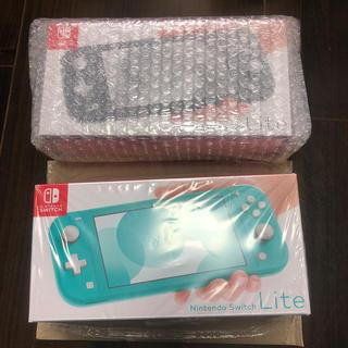 ニンテンドースイッチ(Nintendo Switch)のNintendo Switch  Lite ターコイズ+グレー(家庭用ゲーム機本体)