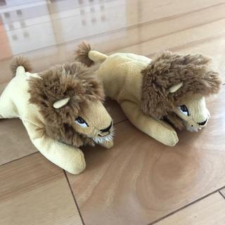 IKEA - IKEA キッズ ぬいぐるみ ライオン 美品