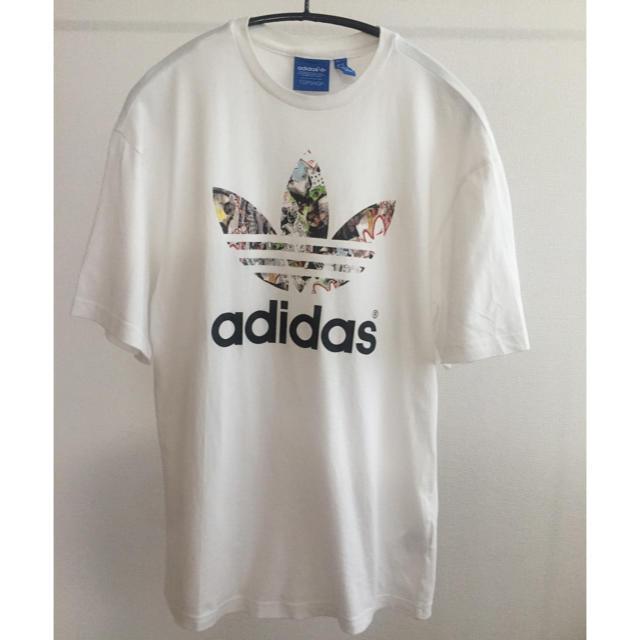 adidas(アディダス)のadidas×TOPSHOP限定コラボTシャツ レディースのトップス(Tシャツ(半袖/袖なし))の商品写真