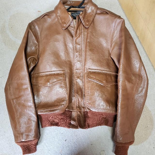 THE REAL McCOY'S(ザリアルマッコイズ)のREALMcCOY'S リアルマッコイズ A-2 ケーブルレインコート実名復刻 メンズのジャケット/アウター(フライトジャケット)の商品写真