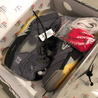 OFF-WHITE - 27cm OFF-WHITE AIR JORDAN 5 確実正規品