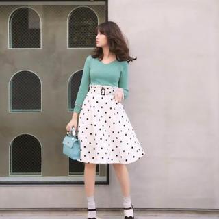 Rirandture - リランドチュール♡ドットフレアスカート