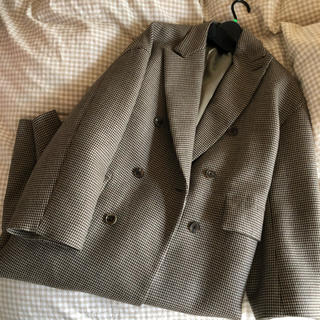 1LDK SELECT - 今月まで出品。auralee hounds tooth check coat
