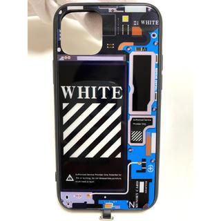 光るiPhoneケース iPhone11pro オフホワイト