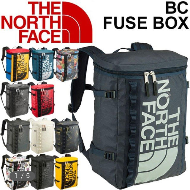 THE NORTH FACE(ザノースフェイス)のKPKPKP様専用⭐︎ノースフェイス ヒューズボックス 紺色 NM81630  メンズのバッグ(バッグパック/リュック)の商品写真