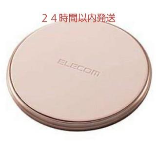 ELECOM - QI ワイヤレス 充電器 ゴールド