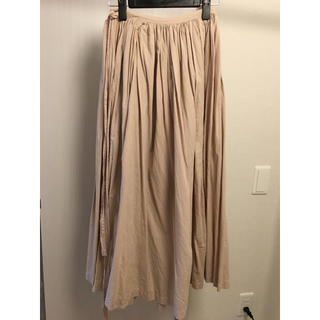 イデー(IDEE)のIDEE POOL いろいろの服 巻きギャザーエプロン(ロングスカート)