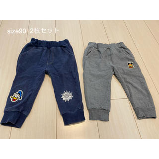 アカチャンホンポ(アカチャンホンポ)のズボン サイズ90 2枚セット(パンツ/スパッツ)