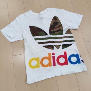 adidas - adidasoriginals Tシャツ ビッグカモフラ Sサイズ
