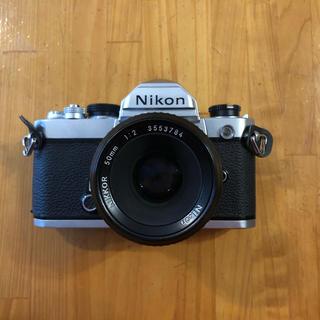 Nikon - ニコンFM 50mmf2 外観美品