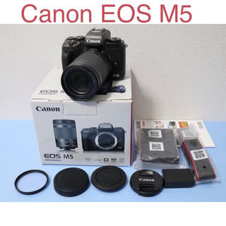 Canon -  Canon EOS M5 ズームレンズキット