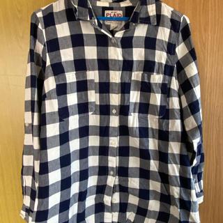 Old Navy - Old Navy 紺 チェックシャツ