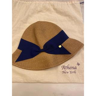 バーニーズニューヨーク(BARNEYS NEW YORK)のアシーナニューヨーク ガール リサコ キッズ(帽子)