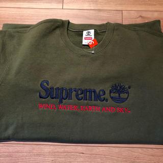 Supreme - supreme  Timberland クルーネック L サイズ