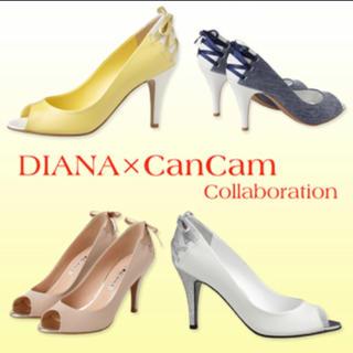 ダイアナ(DIANA)の【美品】DIANAxCanCamコラボ(ハイヒール/パンプス)