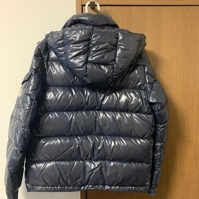 MONCLER(モンクレール)の【モンクレール西武渋谷店購入】MAYA size0 1番人気ネイビー メンズのジャケット/アウター(ダウンジャケット)の商品写真