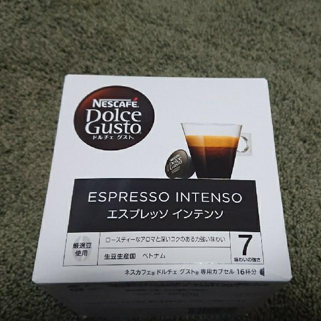Nestle(ネスレ)のネスカフェ ドルチェグスト エスプレッソ インテンソ(5箱) 食品/飲料/酒の飲料(コーヒー)の商品写真