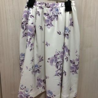 MERCURYDUO - 花柄 膝丈スカート
