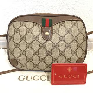 Gucci - 極美品♡大人気丸ポシェット オールド GUCCIグッチ ショルダーバッグ