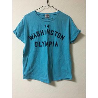 CUBE SUGAR - キューブシュガー Tシャツ Mサイズ 鮮やかな水色