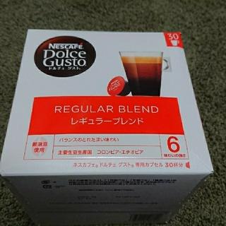 ネスレ(Nestle)のネスカフェ ドルチェグスト レギュラーブレンド(4箱)(コーヒー)