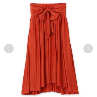 メゾンドリーファー(Maison de Reefur)のメゾンドリーファー ウエスト リボン スカート(ロングスカート)