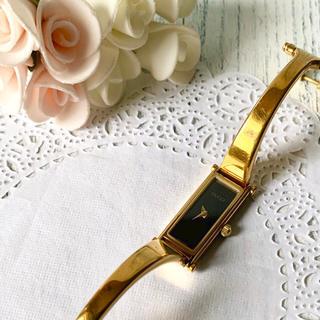 Gucci - 【動作OK】GUCCI グッチ 1500L 腕時計 レクタンギュラ S刻印