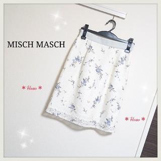 ミッシュマッシュ(MISCH MASCH)のMISCH MASCH*フラワーレースタイトスカート(ひざ丈スカート)