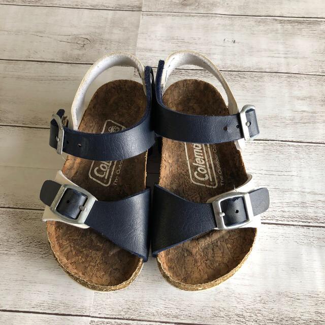 Coleman(コールマン)のコールマン 子供 サンダル ネイビー 16cm キッズ/ベビー/マタニティのキッズ靴/シューズ(15cm~)(サンダル)の商品写真