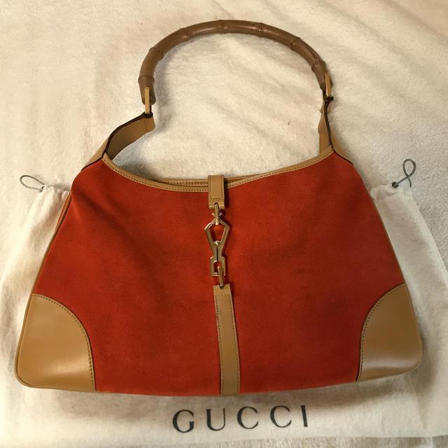 Gucci - GUCCI バッグ バンブーハンドルの通販
