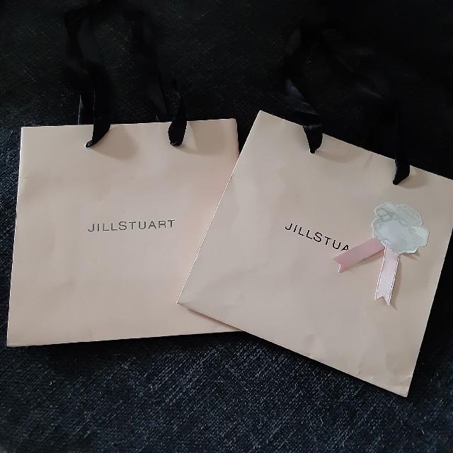 JILLSTUART(ジルスチュアート)のJILLSTUART 紙袋 2枚 レディースのバッグ(ショップ袋)の商品写真