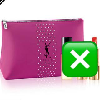 Yves Saint Laurent Beaute - 新品未使用未開封@YLS イヴ・サンローラン ピンク ポーチ ノベルティ