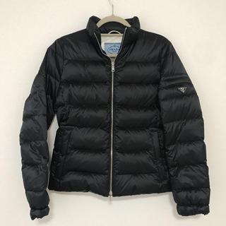 PRADA - 【販売証明書有り】PRADA ダウンジャケット 42 ブラック