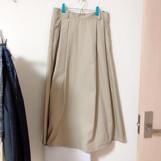 GU - チノフレアロングスカート XL