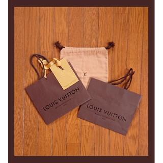 LOUIS VUITTON - ルイヴィトンショップ袋 布袋