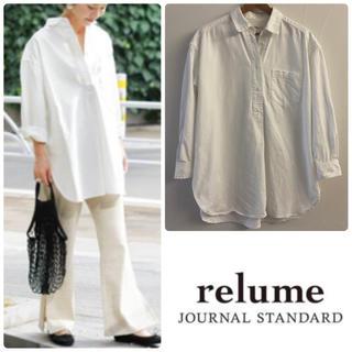 JOURNAL STANDARD - journal standard relume 白シャツ ビッグシャツ