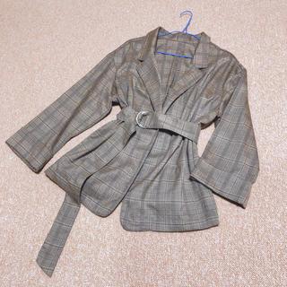 エムズエキサイト(EMSEXCITE)のテーラードジャケット ベルト付(テーラードジャケット)