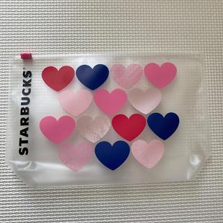 Starbucks Coffee - スタバ ポーチ ハート