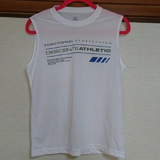デサント(DESCENTE)のDESCENTE  ノースリーブ  Tシャツ(Tシャツ/カットソー(半袖/袖なし))