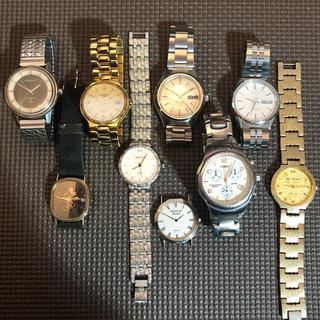 セイコー(SEIKO)のセイコー、ロンジン等 腕時計 ジャンク品 9点セット(腕時計(アナログ))
