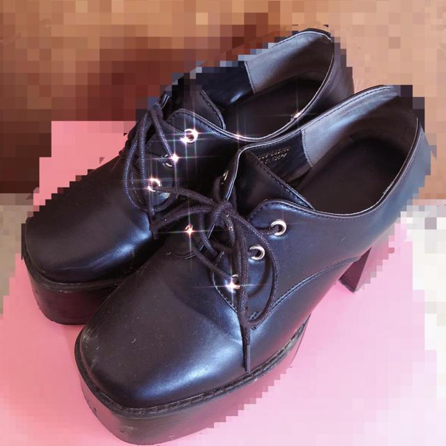 ♡ 量産型 厚底シューズ ♡ レディースの靴/シューズ(ローファー/革靴)の商品写真