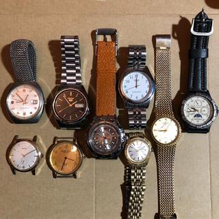 SEIKO - セイコー、ラドー 等 腕時計 ジャンク品 9点セット