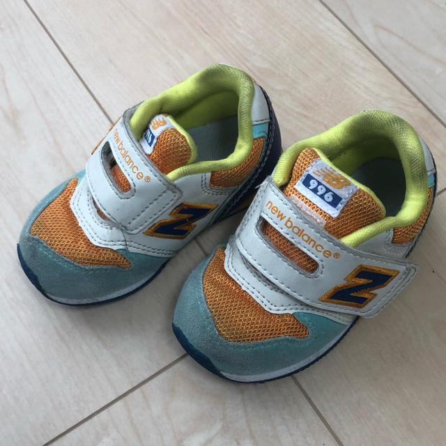 New Balance(ニューバランス)のニューバランス キッズシューズ 13.5cm キッズ/ベビー/マタニティのベビー靴/シューズ(~14cm)(スニーカー)の商品写真