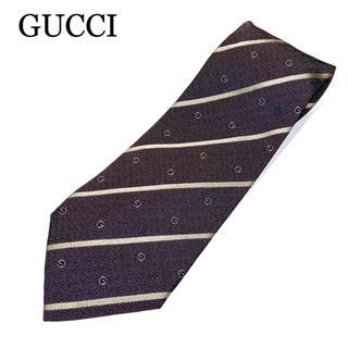 Gucci - GG柄◎クリーニング済【GUCCI】ネクタイ 紳士 メンズ 男性 ビジネス