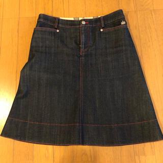 オールドイングランド(OLD ENGLAND)の値下げオールドイングランドのデニムスカート(ひざ丈スカート)