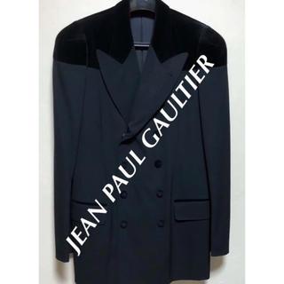 ジャンポールゴルチエ(Jean-Paul GAULTIER)のJEAN PAUL GAULTIER  ベルベットスーツ 希少 黒 ゴルチエ(セットアップ)